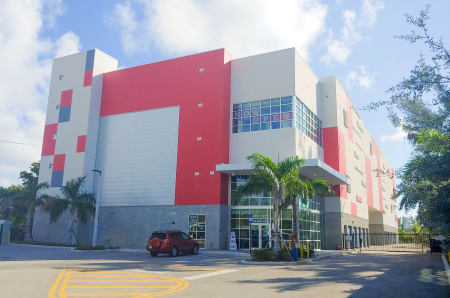 Exterior view at StorQuest Self Storage in North Miami Beach, FL