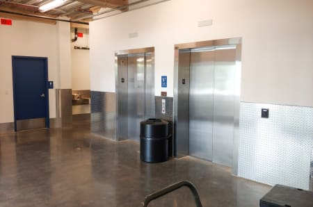 Elevators at StorQuest Self Storage in Miami, FL