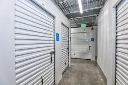 Interior units at StorQuest Self Storage in Aurora, CO