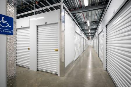 Interior units at StorQuest Self Storage in West Babylon, New York