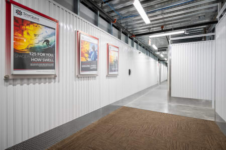 Interior view at StorQuest Self Storage in West Babylon, New York