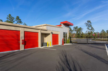 Exterior units at StorQuest Express - Self Service Storage in Deltona, FL