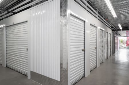 Interior units at StorQuest Self Storage in Gainesville, Florida
