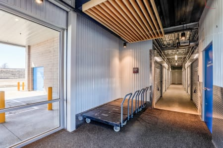 Amenities and dollies available at StorQuest Self Storage in Arvada, CO