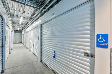 Interior units at StorQuest Self Storage in Arvada, CO