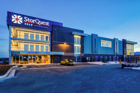 Exterior view at StorQuest Self Storage in Arvada, CO