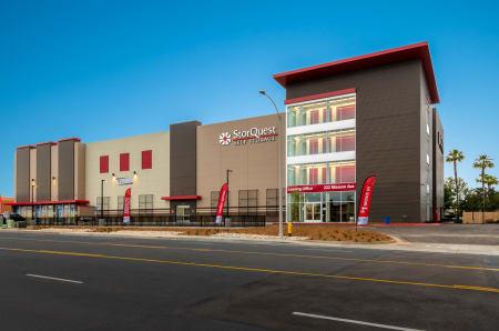 View of facility at StorQuest Self Storage in Escondido, CA