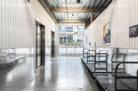 Elevators at StorQuest Self Storage in Escondido, CA