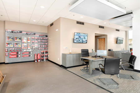 Leasing office at StorQuest Self Storage in Escondido, CA