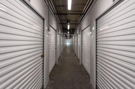Interior units at StorQuest Self Storage in Gainesville, FL