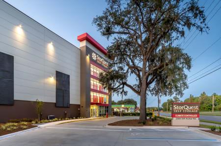 Exterior view at StorQuest Self Storage in Gainesville, FL