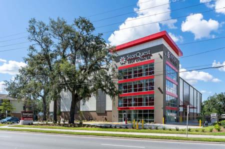 Store front at StorQuest Self Storage in Gainesville, FL