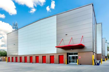 Exterior units at StorQuest Self Storage in Gainesville, FL