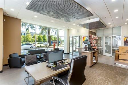 Leasing office at StorQuest Self Storage in Gainesville, FL