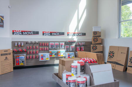 Merchandise at StorQuest Self Storage in Tigard, OR