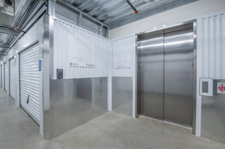 Elevator access at StorQuest Self Storage in Tigard, OR