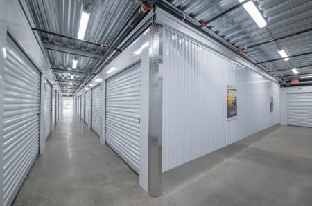 Interior units at StorQuest Self Storage in Tigard, OR