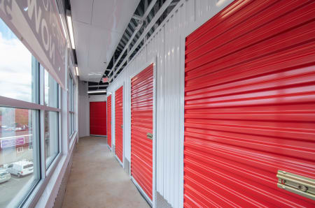 Exterior units at StorQuest Self Storage in Tigard, OR