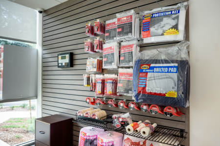Merchandise at StorQuest Self Storage in Seattle, WA