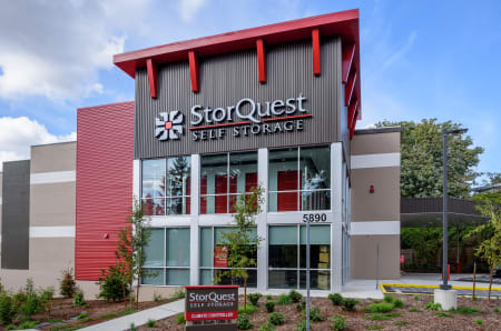 Store front at StorQuest Self Storage in Seattle, WA