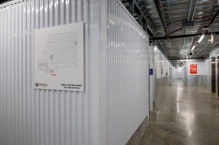 Interior units at StorQuest Self Storage in Seattle, WA
