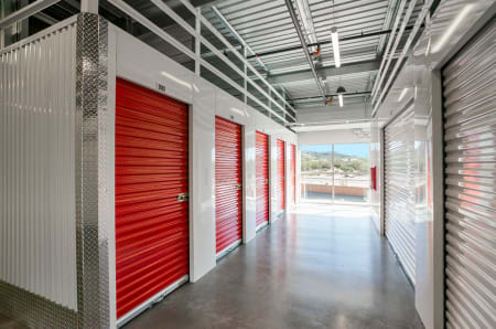 Interior units at StorQuest Self Storage in Carefree, AZ