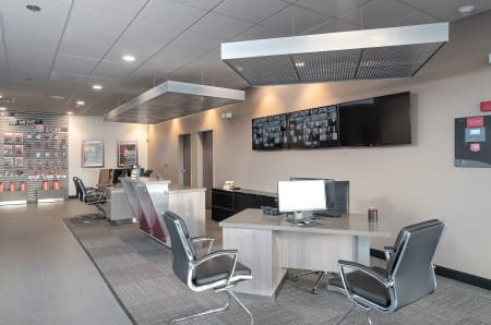Conference area at StorQuest Self Storage in Redwood City, California