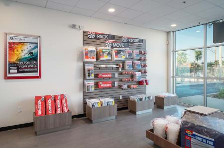 Packing supplies at StorQuest Self Storage in Santa Maria, California