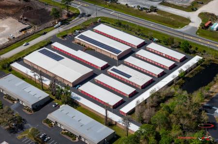 Exterior of StorQuest Self Storage in Gainesville, FL
