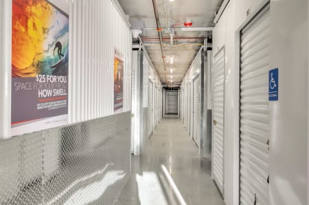 Interior units at StorQuest Self Storage in Hawthorne, California