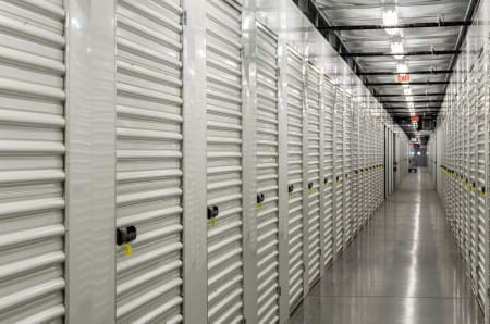 Interior units at StorQuest Self Storage in Venice, Florida