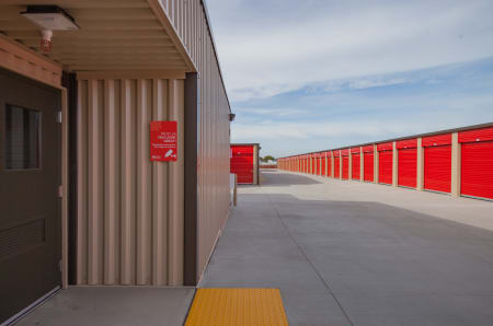 Outdoor Units at StorQuest Express - Self Service Storage in West Sacramento, California