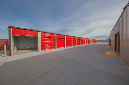 Exterior Units at StorQuest Express - Self Service Storage in West Sacramento, California