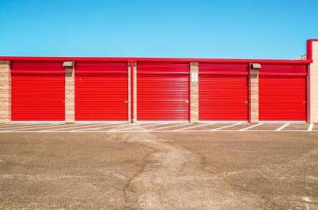 Exterior units at StorQuest Self Storage in Santa Maria, California