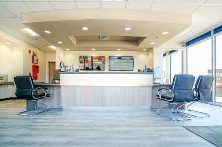Leasing office at StorQuest Self Storage in Santa Maria, California