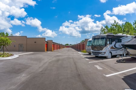 RV parking at StorQuest Express - Self Service Storage in Palm Coast, Florida