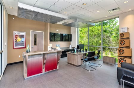 Modern facility office at StorQuest Express - Self Service Storage in Palm Coast, Florida