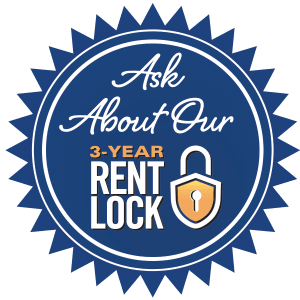 Graphic for 3-year rent lock for Discovery Village At Sandhill