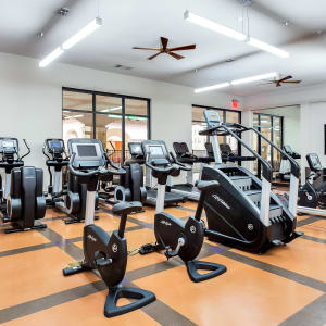 Fitness center in Villas at the Rim in San Antonio, Texas