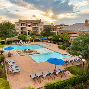 Neighborhood at Onion Creek Luxury Apartments in Austin, Texas