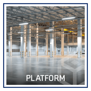 View platform at Alpha Industrial Properties in Chicago, Illinois