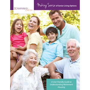 Read the Making Sense white paper at Aspired Living of La Grange in La Grange, Illinois.