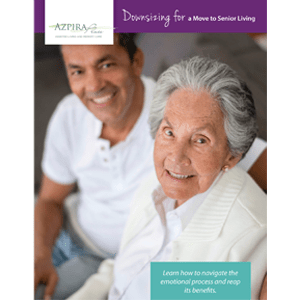 Downsizing for a move white paper available from Azpira Place of Breton