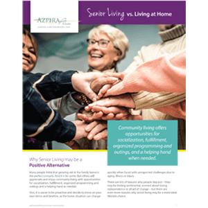 senior residents celebrating together