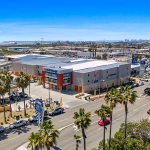 Aerial view of A-1 Self Storage in National City, California