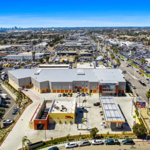 Aerial view of our self storage facility in National City, California at A-1 Self Storage