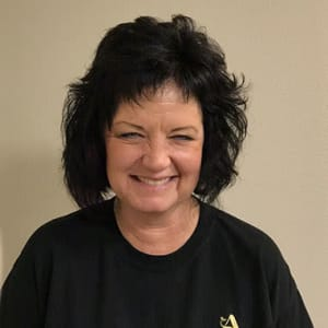 Sherry Elwell, Housekeeping at Applewood Pointe Roseville at Central Park in Roseville, Minnesota