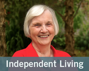 Photo link to independent living page at Windsor Senior Living in Dallas, Texas