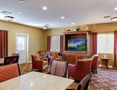 Lounge at Pacifica Senior Living Tucson