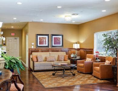 Beautiful lounge at Pacifica Senior Living Tucson